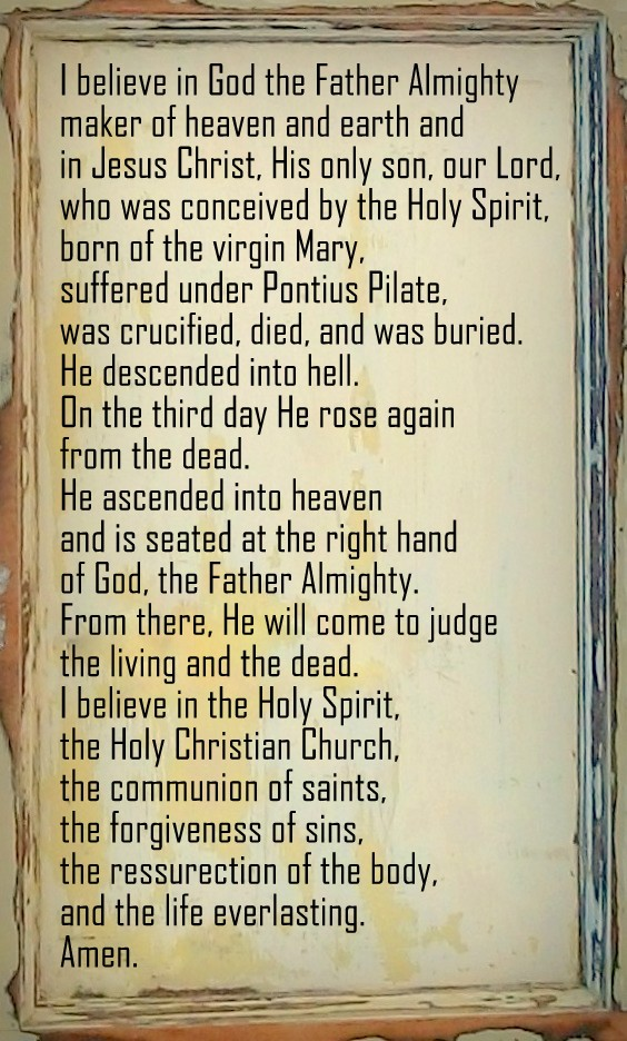 dating the apostles creed